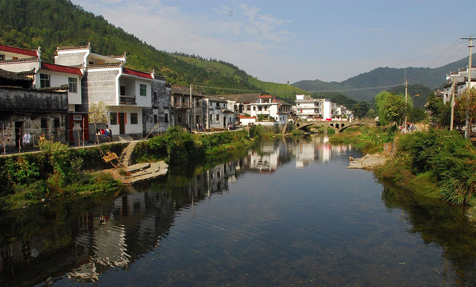village by the water